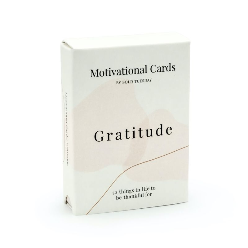 Gratitude – 52 Motivational Cards image