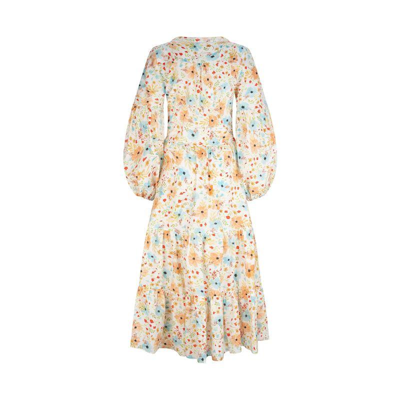 Sorrento Dress Peachy Posy image