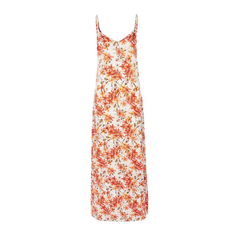 Silk Dress In Wild Rose image