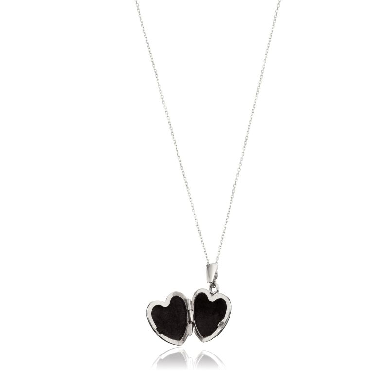 Sterling Silver Small Heart Locket image