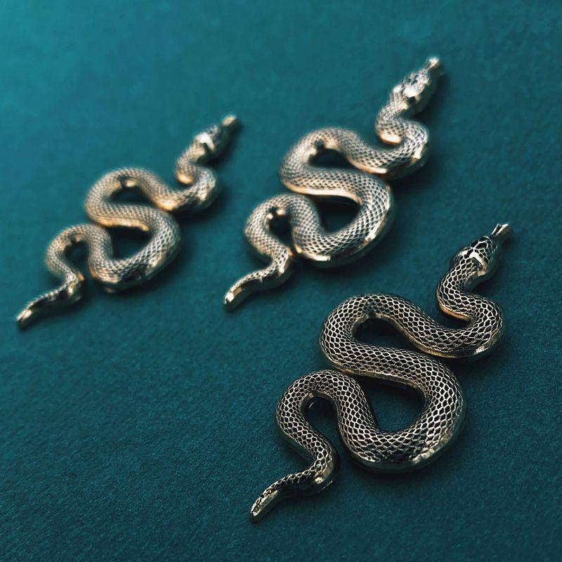 Enamel Pin Snake image