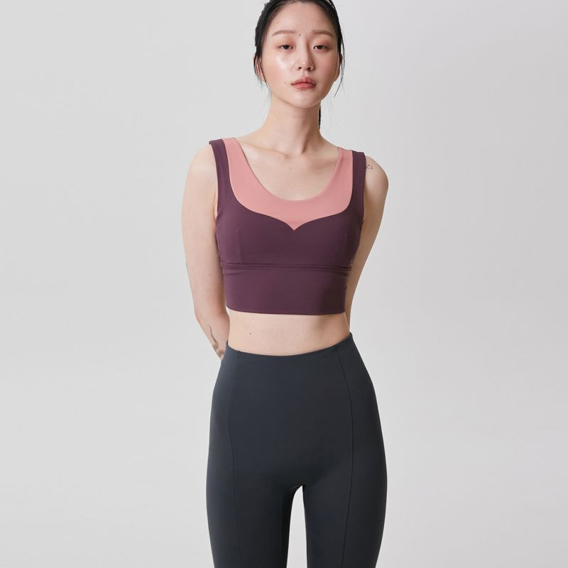 Athleisure Half-Length Top - Sour Apple Top Green image