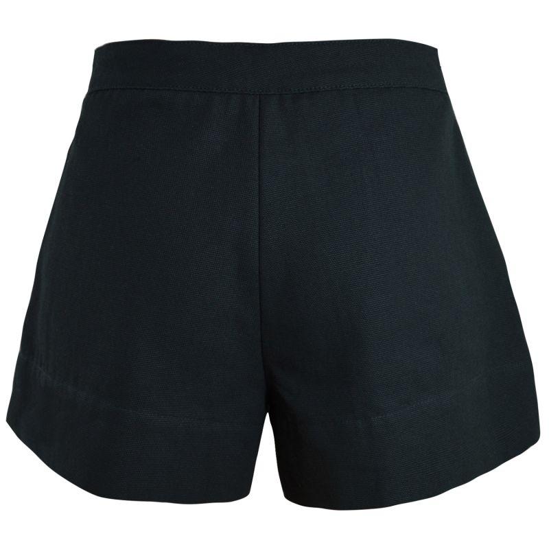 Black Wide Shorts image