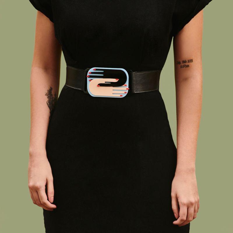 Handmade Acrylic Belt Hands image