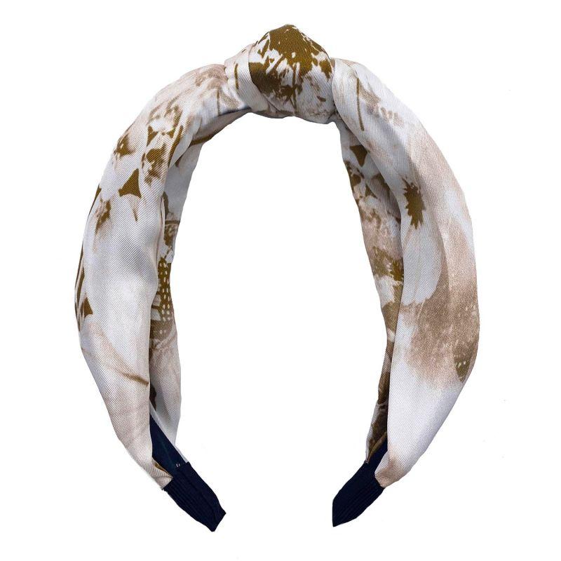 Vintage Palm Silk Headband image