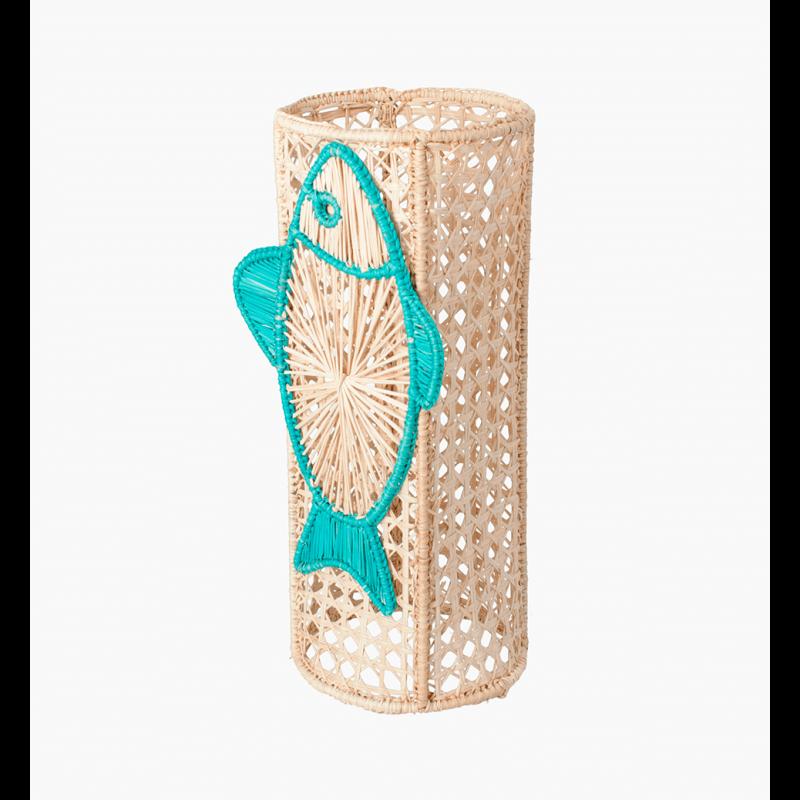 Big Blue Fish Flower Vase image