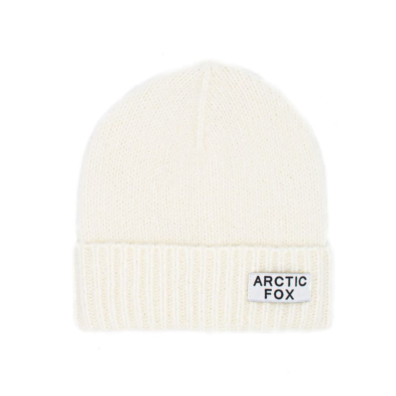 The Mohair Beanie In Winter White image