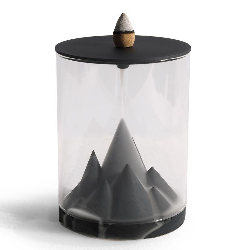 Karst Terrarium Backflow Incense Burner image