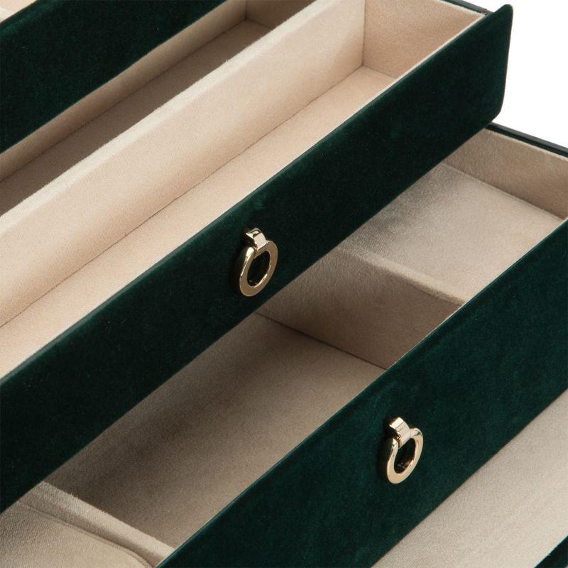 Zoe Medium Jewelry Box Forest Green image