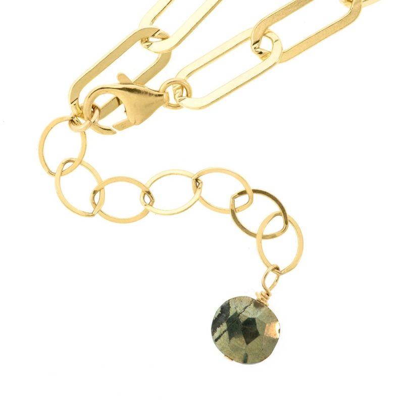 Mega Golden Links Necklace image