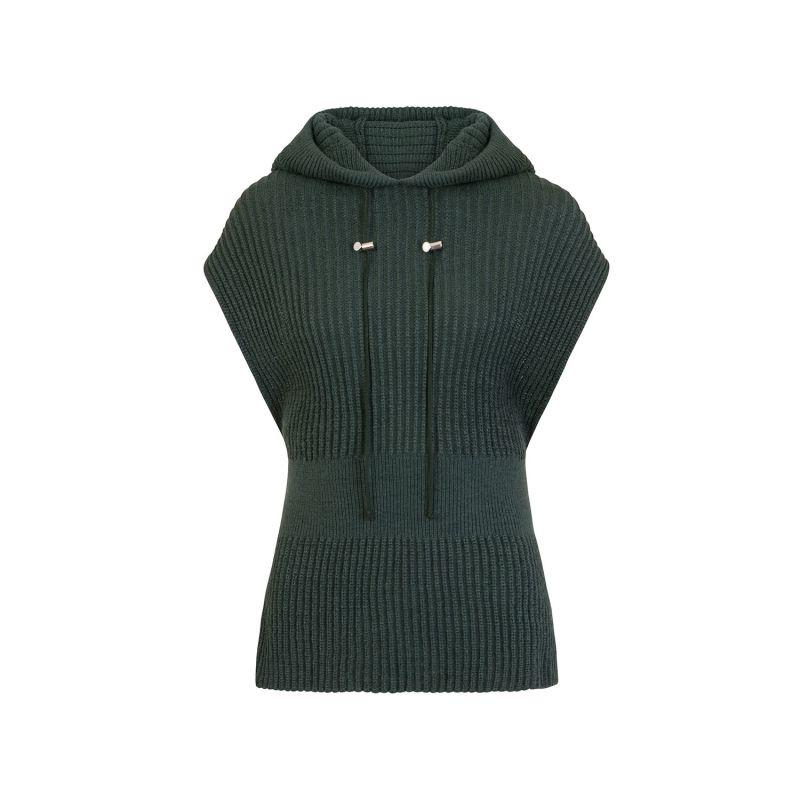 Ribbed Hoodie Vest image