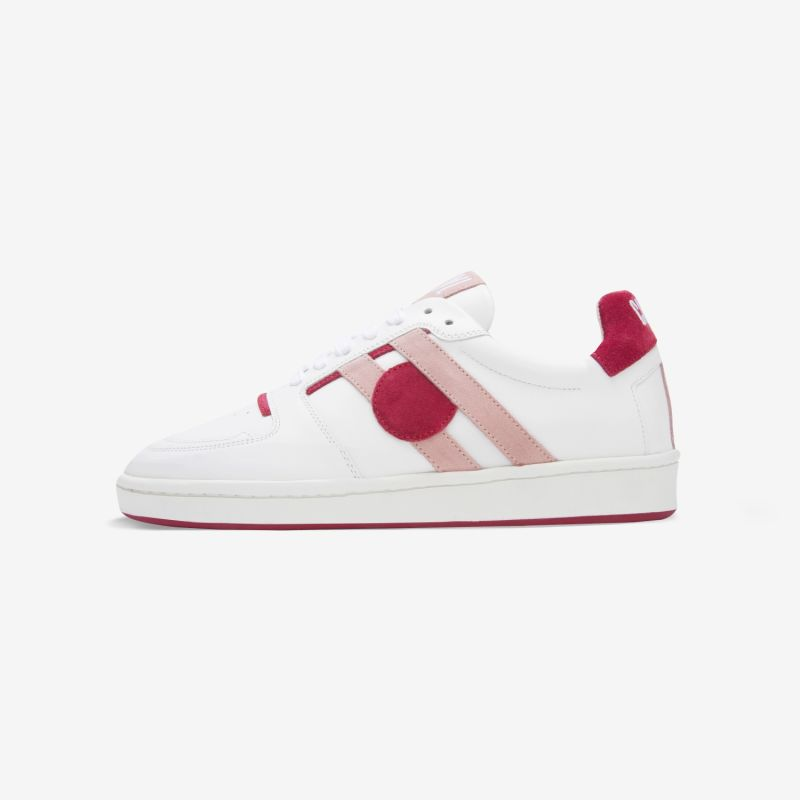 Caval Mismatched Sneakers - Pink Cerise image