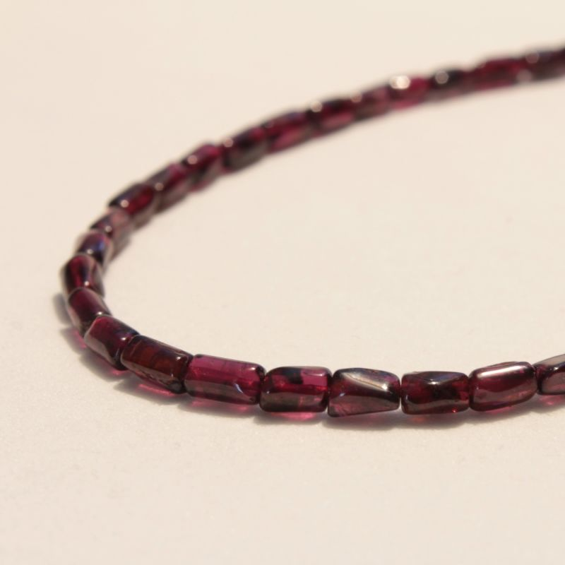 Pomegranate Garnet Necklace image