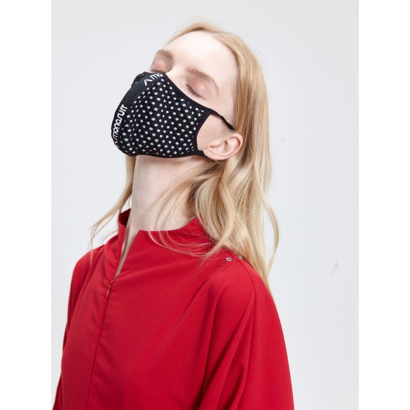 Mask Ring - Black&White Dots image