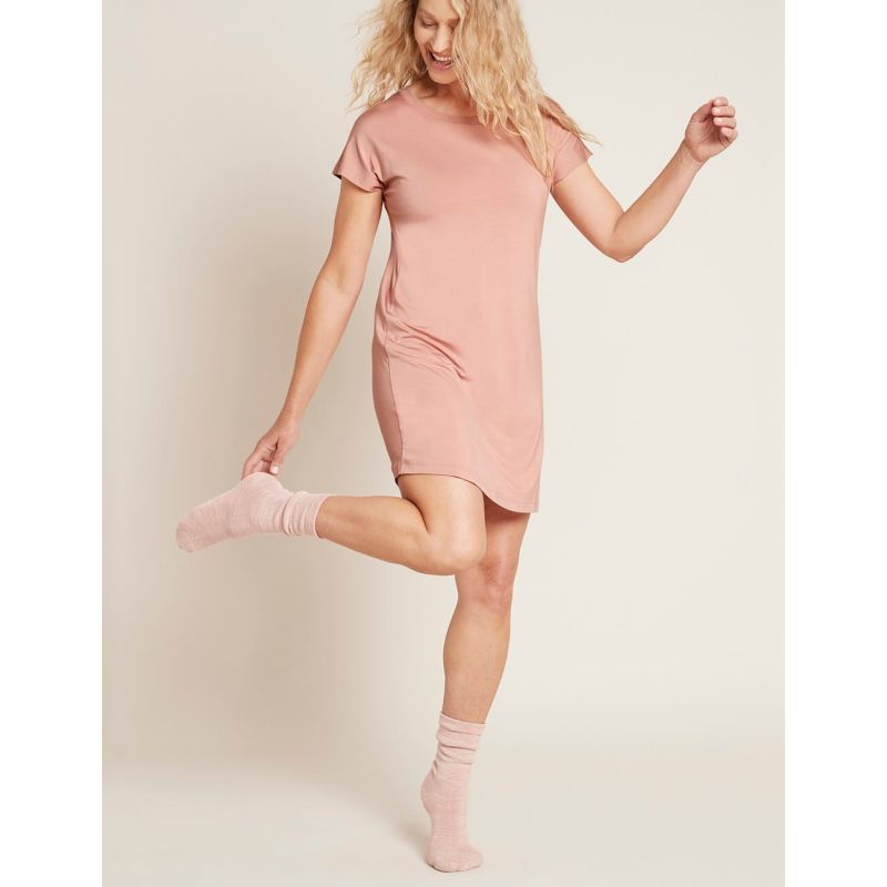 Chunky Bed Socks In Pink image