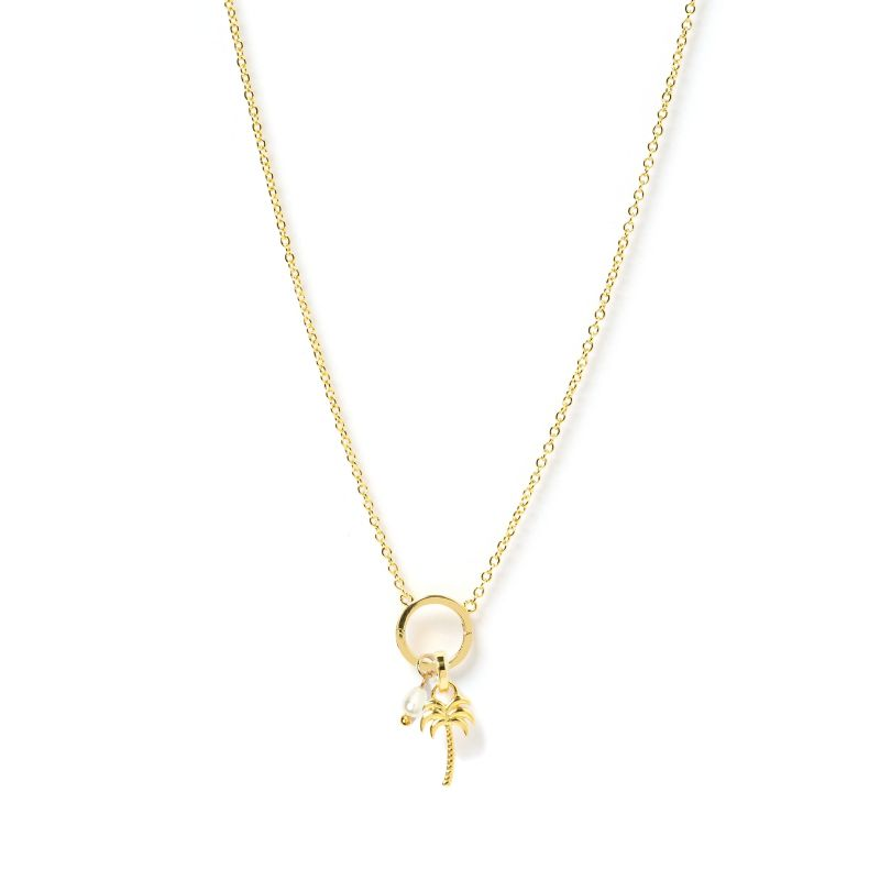 Palm Springs 'O' Charm Necklace image