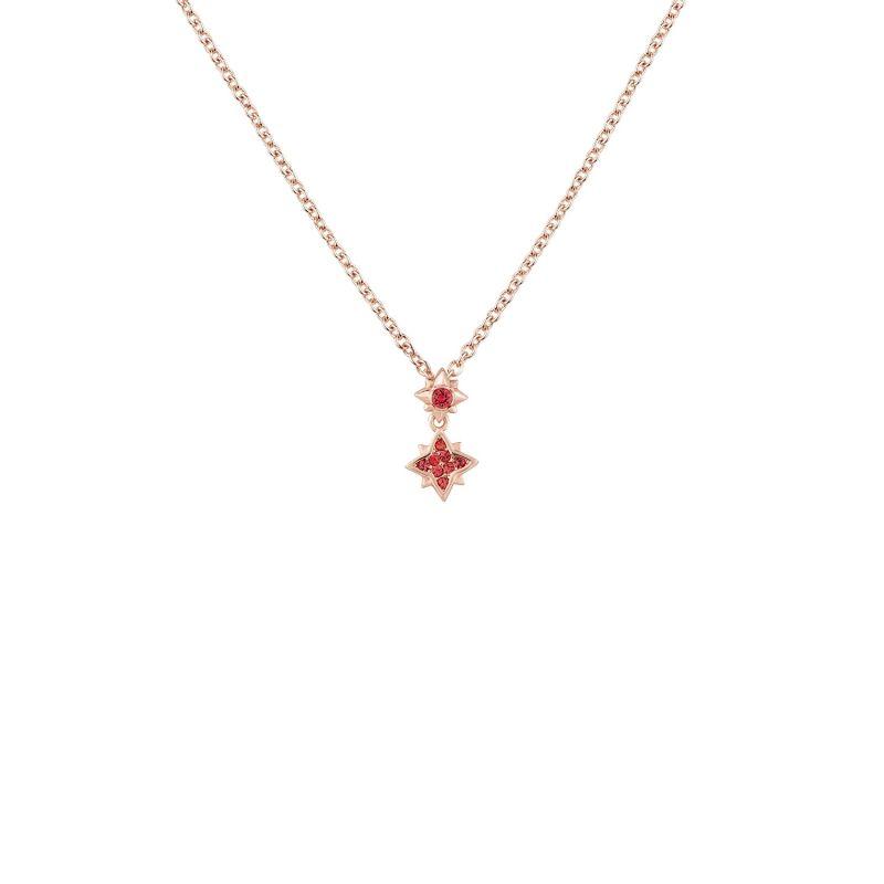 Stellar Pendant - Indian Pink image