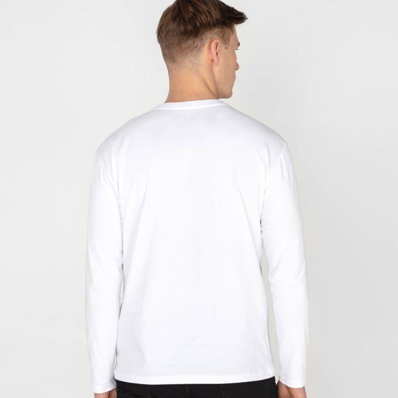 Men's Long Sleeve Tee White image