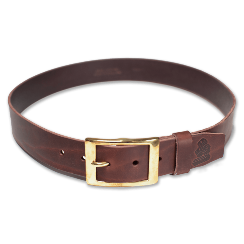 &Sons Brown Leather Belt image