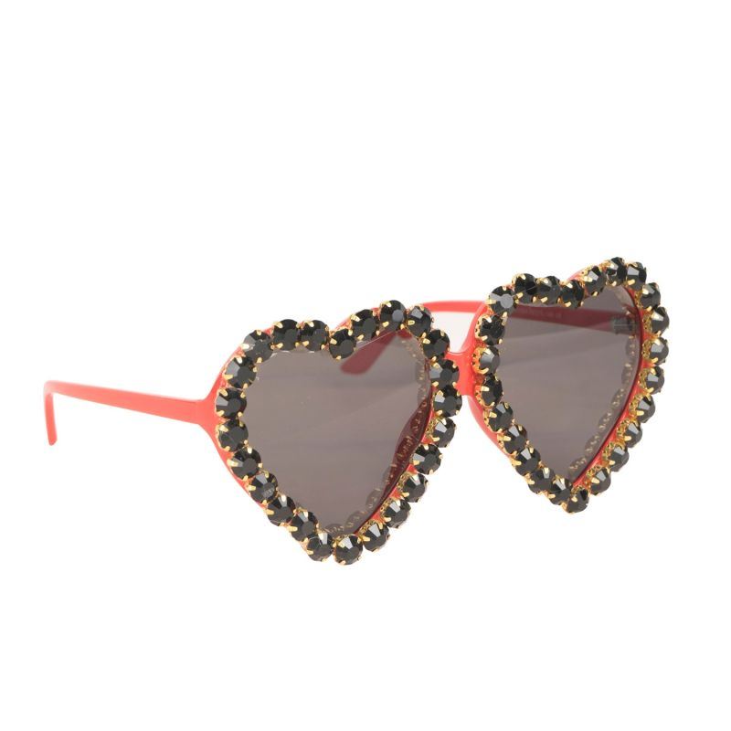 Bejeweled Heart Sunnies In Valentina image