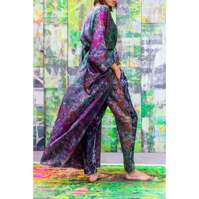 Night Garden Silk Joy Pant image