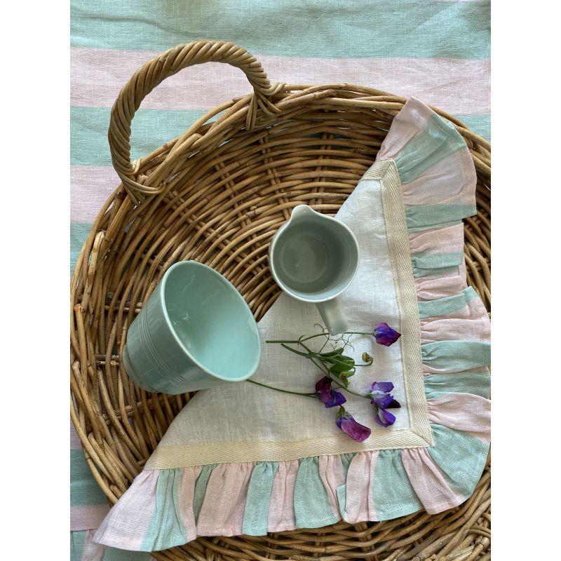 Mint & Rose Wide Stripe image