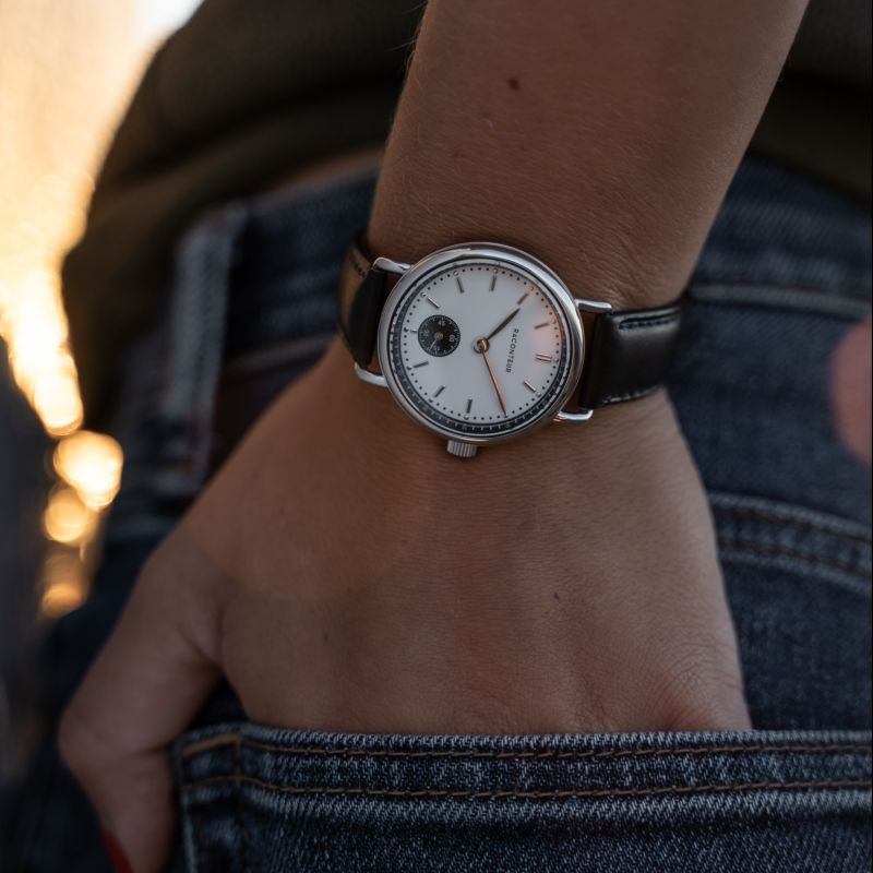 Earhart Silver White - Camel Suede image