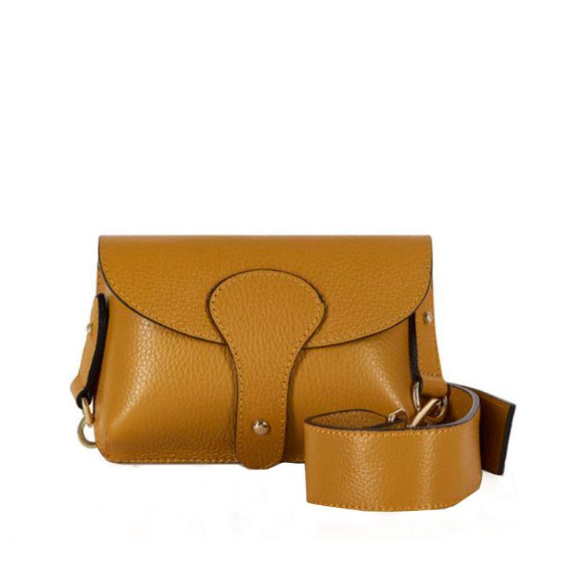 Luca Small Crossbody Bag In Mustard image