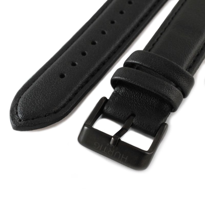 Moderno Vegan Leather Watch All Black image