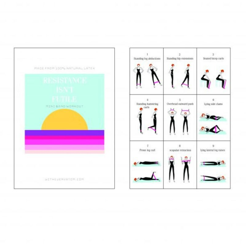 Mini Resistance Bands In Pink image