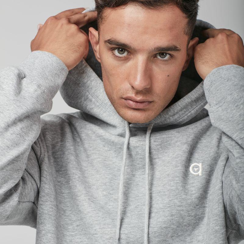 Grey Logo Hoodie image