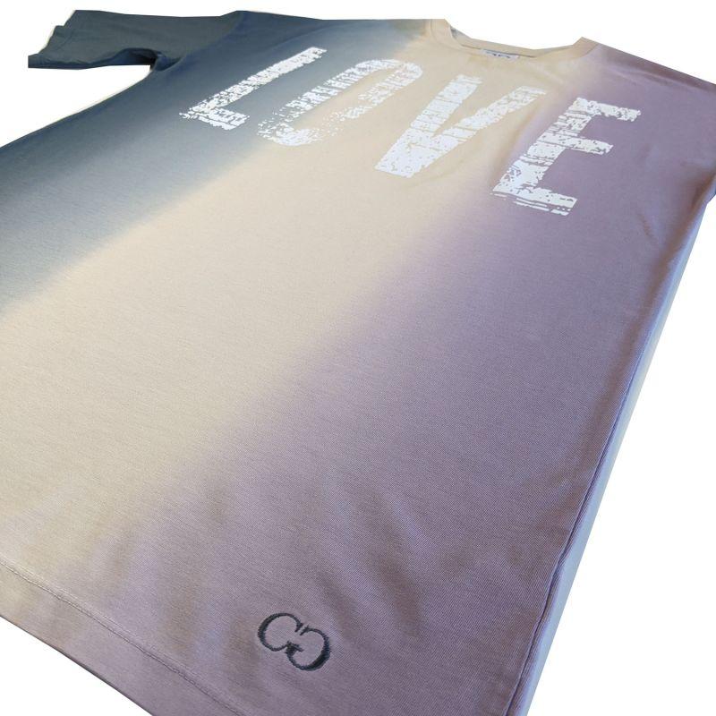 Love Print Dip Dye Tee Dress image