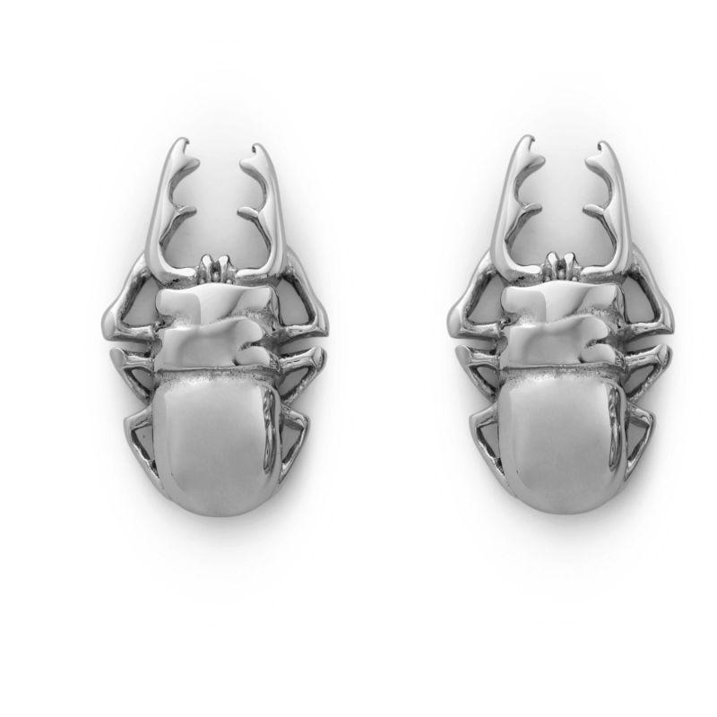 Steel Scarab Cufflinks image