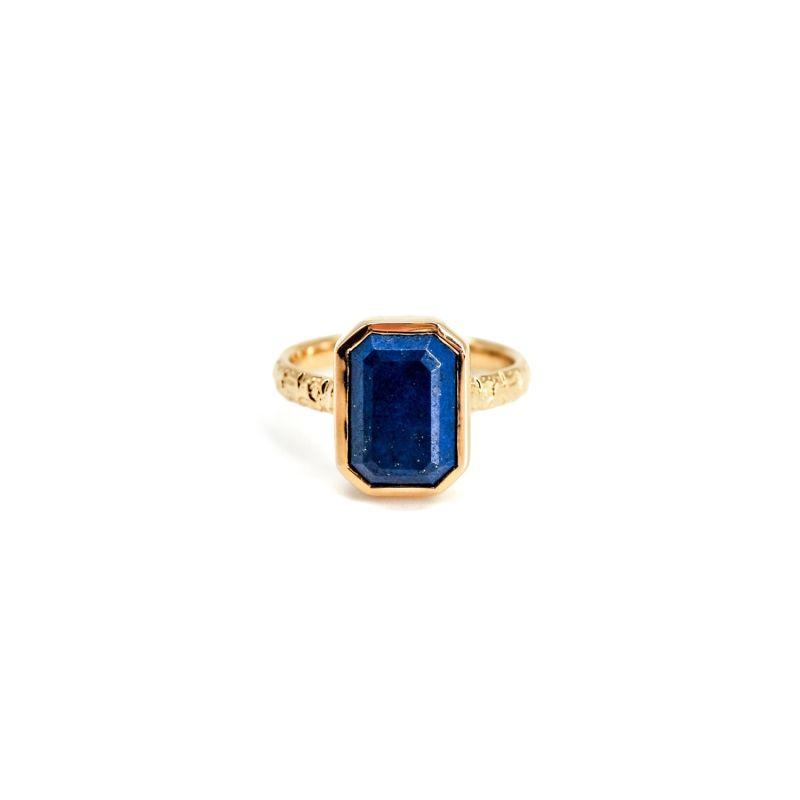 Vye Lapis Lupzli Gold Ring image
