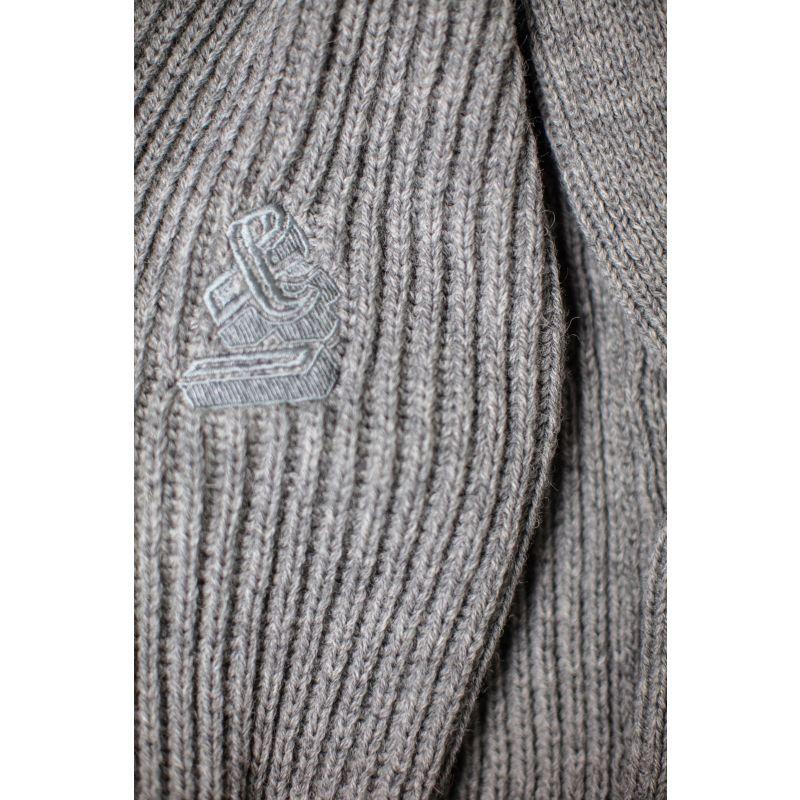 &Sons Pioneer British Wool Cardigan Grey image