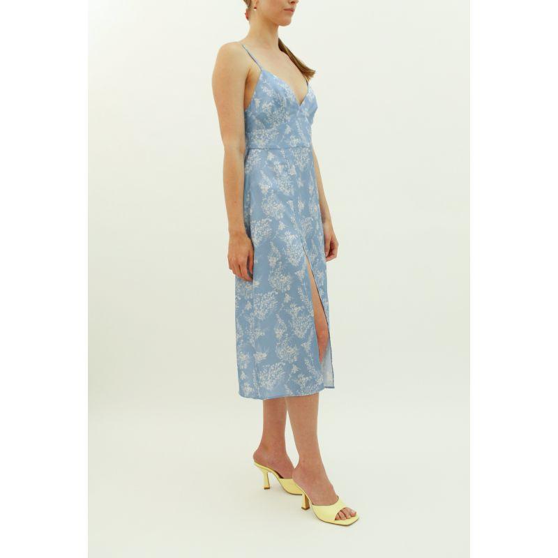 Apéro Dress With Slit Blue Sky image