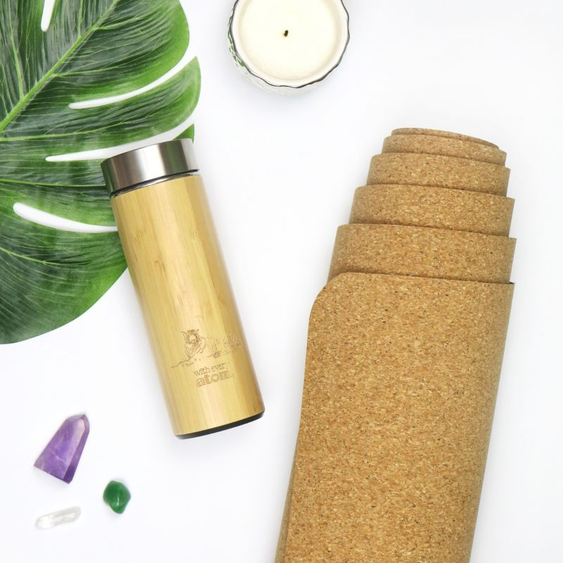 Bamboo Thermal Travel Mug image