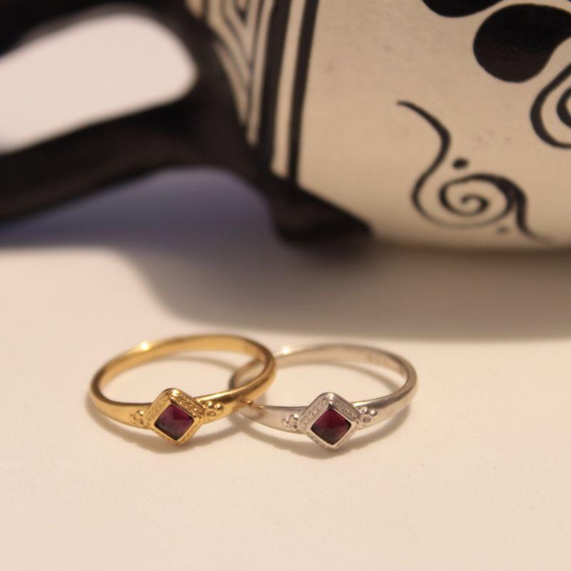 Roman Garnet Ring image