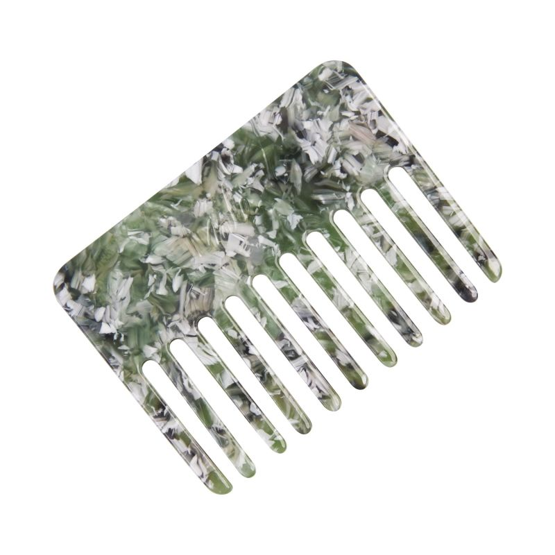 Capelli Hair Comb in Jade Green image