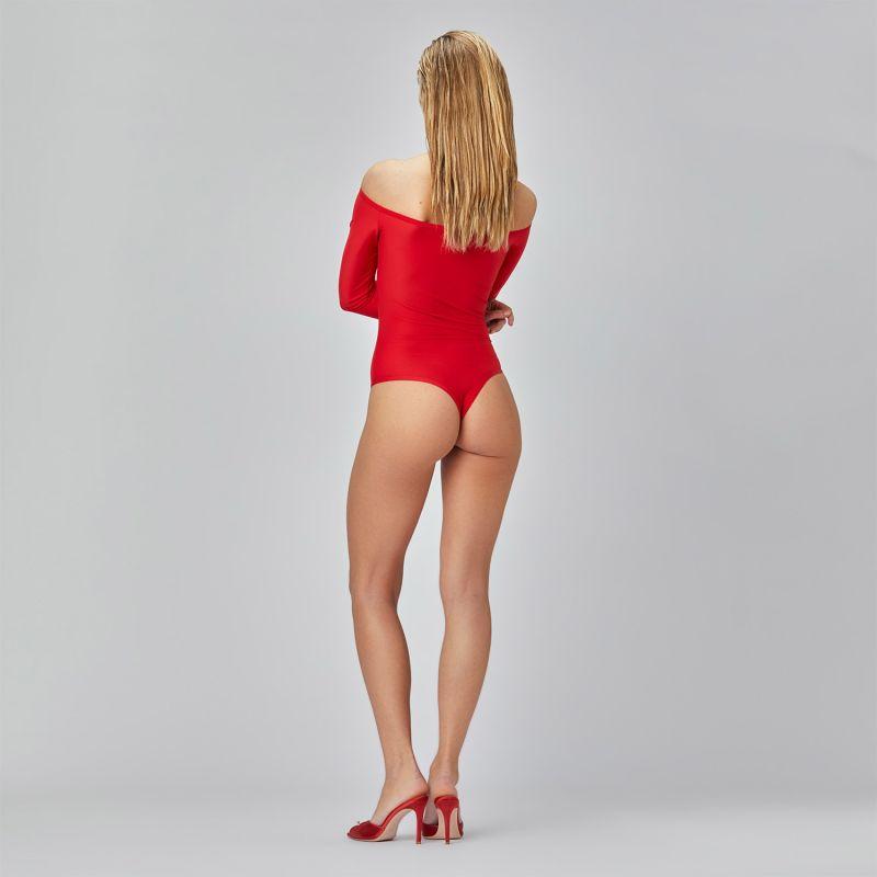 Shape Bodysuit Red image