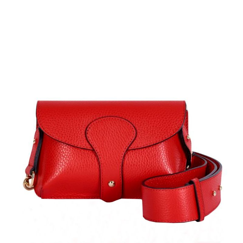 Luca Small Crossbody Bag In Red image