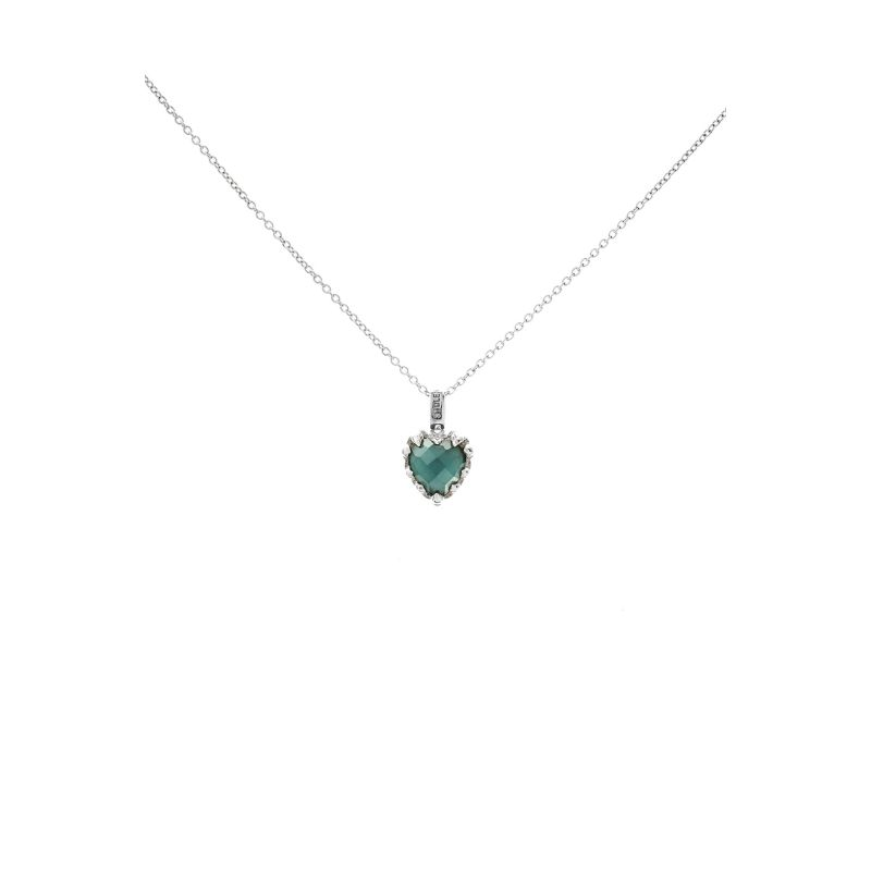 Love Claw Necklace Blue image