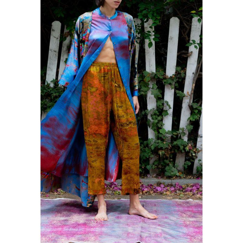Pink Leopard Silk Joy Pants image