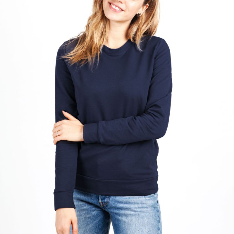 Soft Sweater For Hugs & Touches - Navy image
