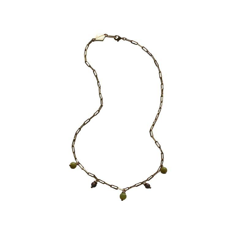 Meadow Gemstone Necklace image