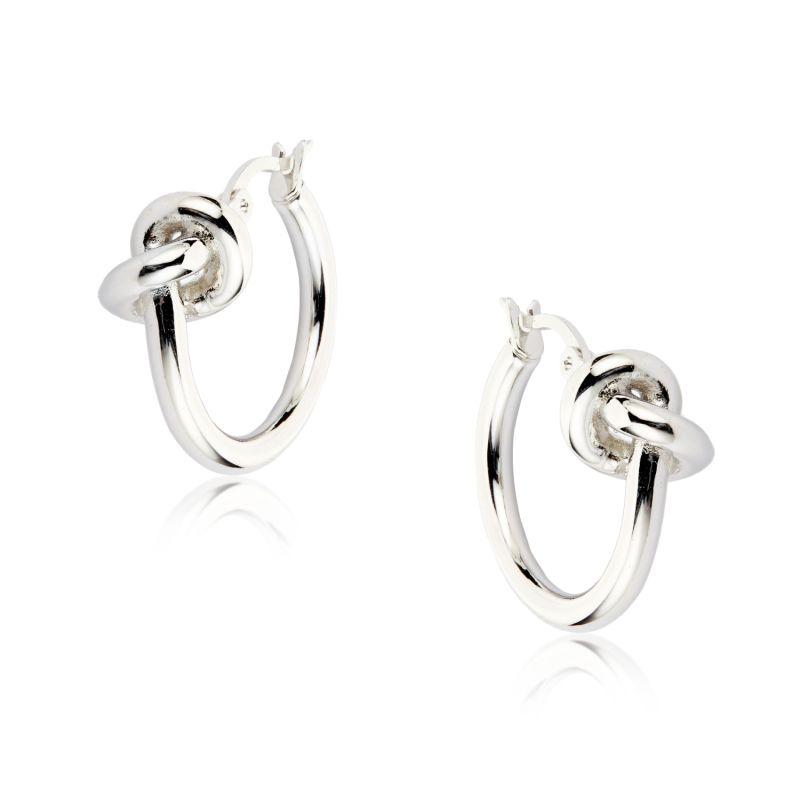 LUNA Silver Earrings image