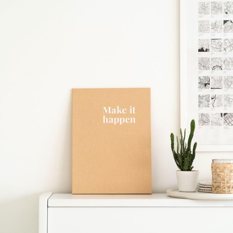 Vision Board Reimagined™ - Sand Beige Covers + 100 Illustrations image