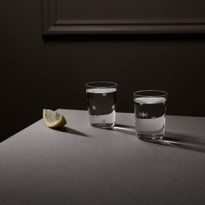 Set of 2 Shot Glass - Star Cut image