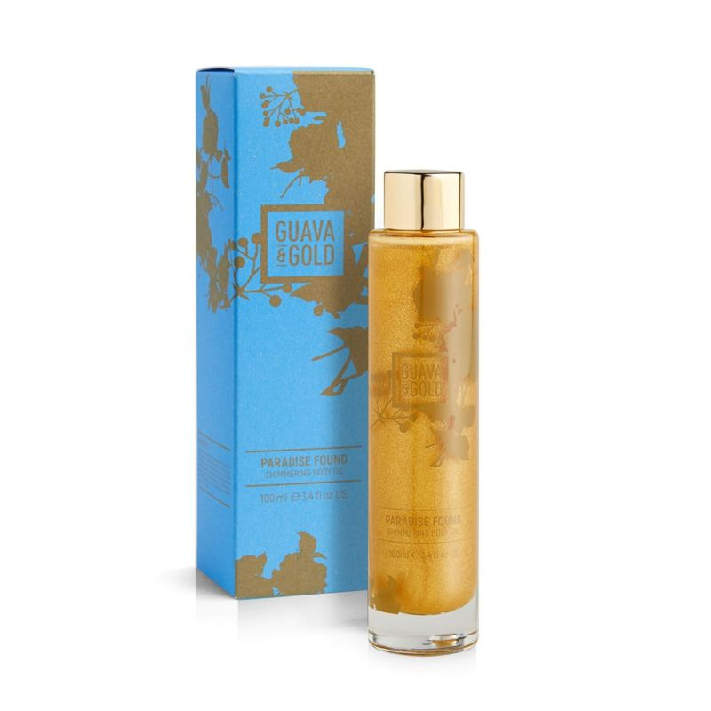 Paradise Found Shimmering Body Oil image