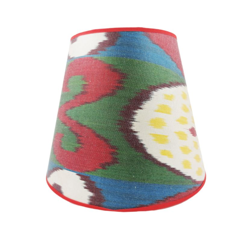 Chicana Silk Card Conical Lampshade image